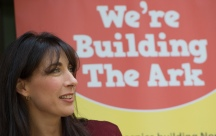 Mcc0079010 © Eddie Mulholland Samantha Cameron attends ground-breaking of first children's hospice building in North and Central London