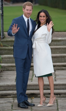 Mcc0080241 © Eddie Mulholland Solo Rota ROYAL Engagement Prince Harry and Meghan Markle