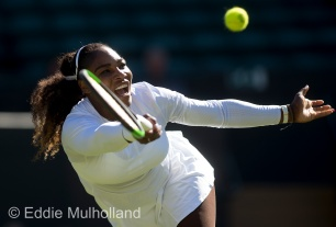 Mcc0082379 © Eddie Mulholland Arantxa Rus 'V' Serena Williams