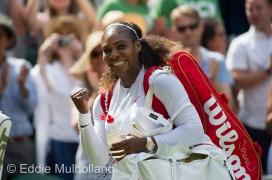 Mcc0082379 © Eddie Mulholland Wimbledon 2018 . Serena Williams