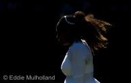 Mcc0082379 © Eddie Mulholland Arantxa Rus 'V' Serena Williams