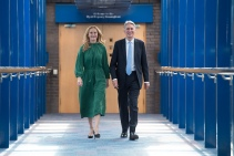 Mcc0084543 © Eddie Mulholland Conservative Party Conference, Birmingham. PIC: Chancellor Philip Hammond and wife Susan.